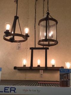 Formal Dining Living Room Space Lighting