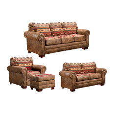 American Furniture Classics   Sierra Lodge, 4 Piece Set With Sleeper   Living  Room Furniture Part 62