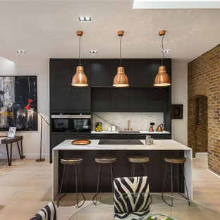 This is an example of an urban kitchen in London.