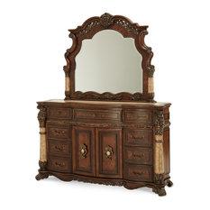 AICO Michael Amini Victoria Palace Dresser & Mirror
