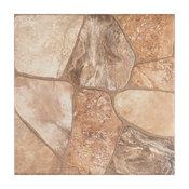 """17.75""""x17.75"""" Rhone Ceramic Floor/Wall Tiles, Set of 8, Beige"""