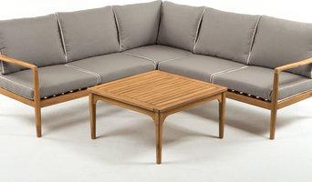 Угловой комплект мебели из акации Manchester