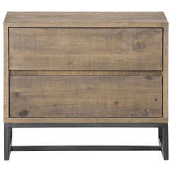 Industrial Nightstands And Bedside Tables by HedgeApple