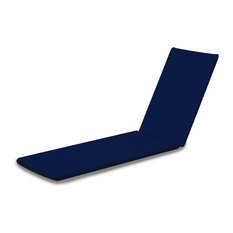 78 in. Upholstery Full Cushion in Navy