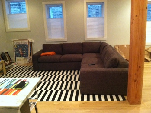 New Sectional Sofa Now What