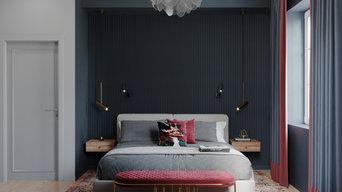 Спальня в таунхаусе