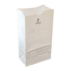 Economy Luminaria Bags, White, 500 Count