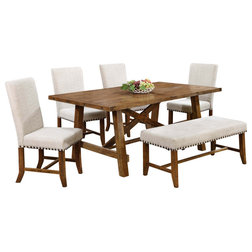 Transitional Dining Sets by Furniture Import & Export Inc.