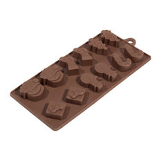 maisons du monde moule chocolat nol couverts