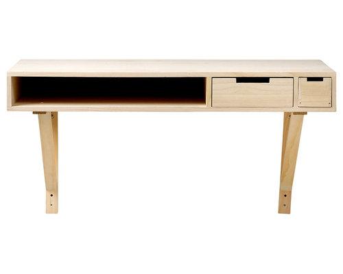 Veneer Skrivbord 100x50cm - Skriveborde