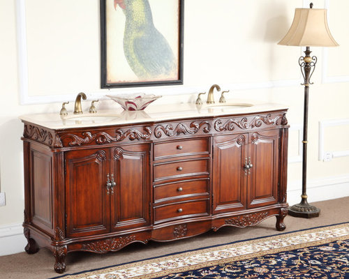 Antique Bathroom Vanities   Bathroom Vanities And Sink Consoles. Antique Bathroom Vanities