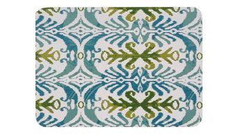 Fabric Laminated Place Mats - Set of 2