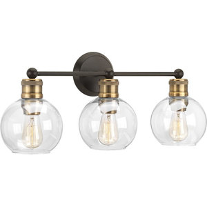 Hansford Collection 3-Light Bath and Vanity, Antique Bronze