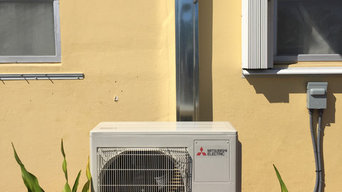 Mitsubishi Ductless Mini Split A/C Installation in Boca Raton, Florida