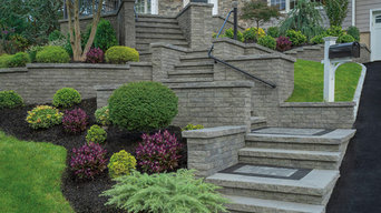 Stairs and pool deck