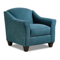 Crawford Arm Chair, Teal
