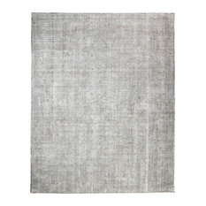 Nathan Distressed Flatweave Area Rug, Gray, 8'x10'