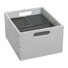 Stackable Sorting Box, Pale Grey