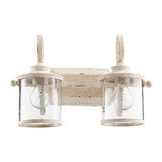 quorum quorum san miguel 2light bathroom vanity - Bathroom Vanity Light