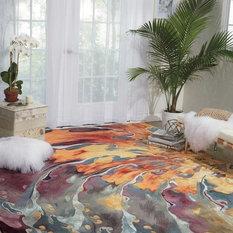 """Nourison - Prismatic Area Rug, Multicolor, 9'9""""x13'9"""" - Area Rugs"""