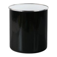 Calypso Basics Large Porcelain Utensil Holder, Black