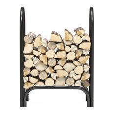 "Regal Flame 28"" Indoor Outdoor Heavy Duty Firewood Shelter Log Rack"