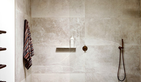 Room of the Week: A Bathroom & Ensuite That 'Speak' to Each Other