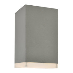 Avenue Outdoor 1 Light Outdoor Ceiling Light in Silver