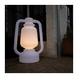 Floor lamp Storm white extra large