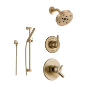 Delta Trinsic Collection Champagne Bronze Finish Custom Shower System SS175981CZ