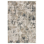 Jaipur Living - Jaipur Living Lynne Abstract White/Gray Area Rug, 9'x12' - Start a design refresh from the ground up with the eye-catching Jaipur Area Rug. This rug's neutral coloring ties your palette together, while its abstract pattern provides visual interest. The Jaipur sets a stylish scene in your living space without the need for a flooring remodel.