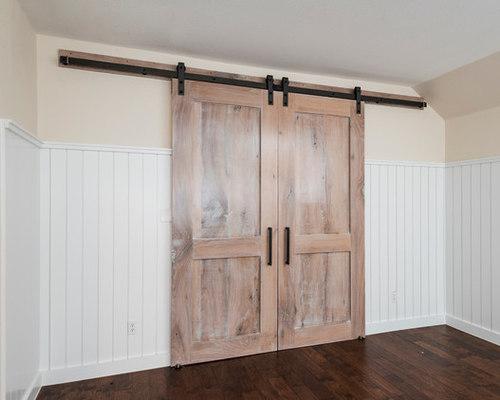 Reclaimed Oak Media Room Doors - Interior Doors
