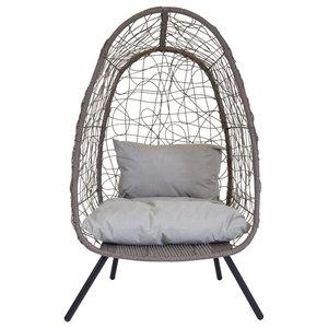 Charles Bentley Honolulu Rattan Snuggle Chair