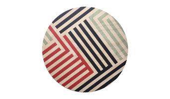 Lines Wood Trivet, Giant Coaster
