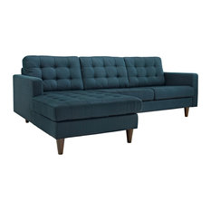 Apartment Size Sectional Sofas With A Chaise Houzz