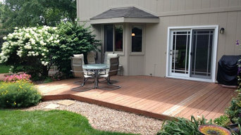 Deck to Patio Paver Project