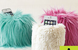 St. Jude Fur Beanbag Cell Phone Holder