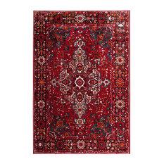 Safavieh Vintage Hamadan Area Rug, Red/Multi, 8'x10'