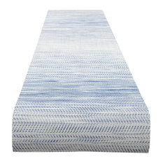 Wave Table Runner, Blue