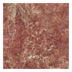 "20""x20"" Rose Marble Luxury Vinyl Tile, Set of 6"