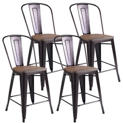 Industrial Bar Stools And Counter Stools by Goplus Corp