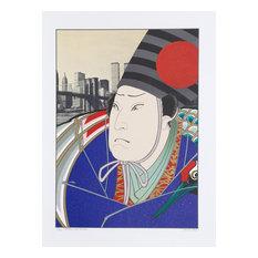 Michael Knigin, Rikaku, After Kunishige, Serigraph