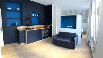 rénovation  appartement haussmannien Paris 9