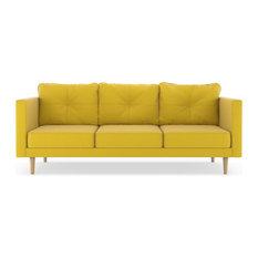 Camden Sofa Oxford Weave Daffodil
