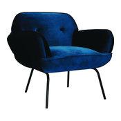 ION Design Tromso Lounge Chair, Dark Blue