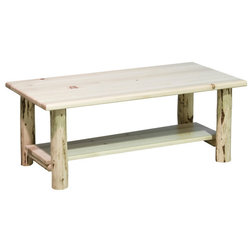 Rustic Coffee Tables by Montana Woodworks
