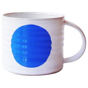 Spot Mugs, Blue, Medium, Set of 2