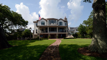 French Chateau on the intracoastal Waterways