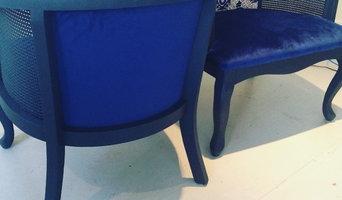 Blue Velvet Chairs