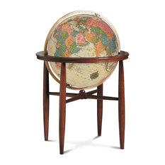 "Finley Globe 20"" Antique Illuminated"